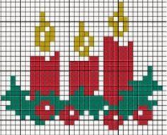 Artes e bordados da Sol: Gráficos para o Natal