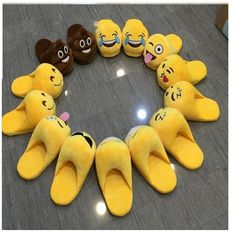 [Visit to Buy] Indoor Warm Emoji Slippers Winter Cotton Plush Slipper Emoji Shoes Smiley Emoticon Winter Soft Free Size Rihanna Slides, Smiley Emoticon, Nike Slippers, Cute Emoji, Funny Emoji, Flip Flop Shoes, Cute Shoes, Women's Shoes, Adulting