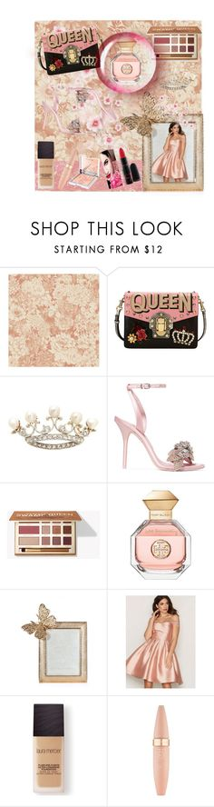 """""""Like a queen"""" by ale-mada ❤ liked on Polyvore featuring Dolce&Gabbana, Sophia Webster, Tory Burch, Jay Strongwater, Laura Mercier, Maybelline, Dita Von Teese and Sisley"""