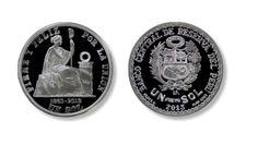 Ponen en circulación monedas de plata por aniversario del sol. #Peru21 #BCR