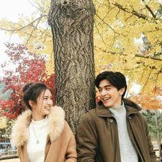 Autumn Photography, Couple Photography, Photography Poses, Photo Poses For Couples, Cute Couples, Korean Couple, Korean Girl, Korean Wedding, Cute Love Couple