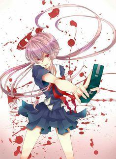 #AlinaTempel Yandere, Yuno Mirai Nikki, Mirai Nikki Future Diary, Yuno Gasai, Anime Family, Fair Games, Anime Shows, Anime Guys, Things To Come