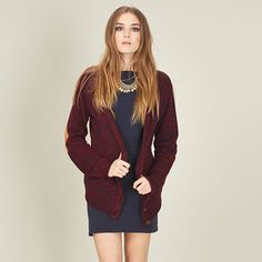 Loved Up Cardigan Burgundy, now featured on Fab. Pennant Flags, Solid Wood Furniture, Design Your Own, Burgundy, Street Style, Blazer, Hair Styles, Shopping, Dresses