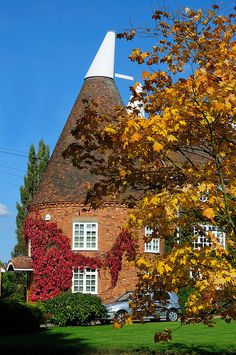 Oast House, Kent, these are to Kent what windmills are to Norfolk. I love them both.