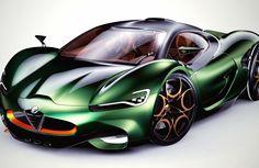 Alfa Romeo Furia: Un auto que merece convertirse en realidad