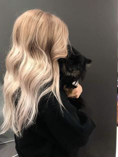 Kitty, Long Hair Styles, Random, Beauty, Beleza, Kitten, Kitty Cats, Long Hair Hairdos, Cosmetology