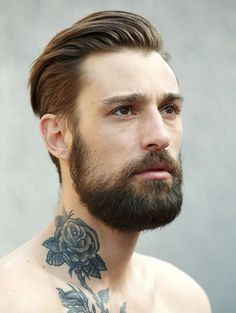"""He that hath a beard is more than a youth, and he that hath no beard is less than a man.""  ~William Shakespeare"