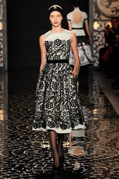 pamella roland FW13 at Mercedes-Benz Fashion Week