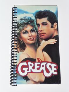 Grease - VHS Movie notebook