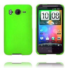 Hard Shell (Grønn) HTC Desire HD Deksel