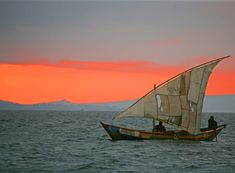 Lake Victoria in Africa, is the second largest freshwater lake in the world.