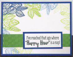 Rubber Stamping with Color Me Happy!