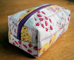 Quilted Boxed Pouch