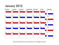 6 Sample Joint Custody Schedules
