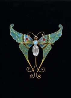 Boucheron brooch, 1900