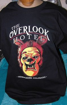 MONSTER ART T SHIRT THE OVERLOOK HOTEL THE SHINING INSPIRED 2XL SCHERES #Gildan #ShortSleeve