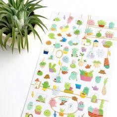 Succulent Cutie Stickers