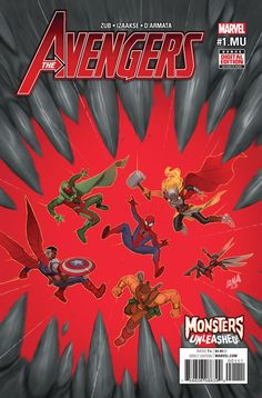 NOV160755 (W) Jim Zub (A) Sean Izaakse (CA) David Nakayama A MONSTERS UNLEASHED TIE-IN! • A seemingly straightforward mission for Spider-Man takes an unexpected turn when Earth's Mightiest Heroes are