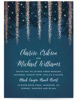 Strands Of Lights Print-It-Yourself Wedding Invitations