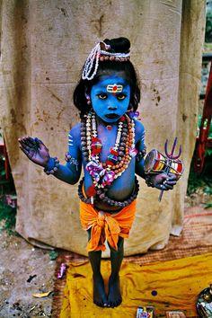 Little Shiva - Haridwar, India | Steve McCurry