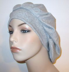 cotton knit snood