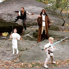 Neil Patrick Harris and husband David Burtka proved themselves, yet again, the kings of Halloween with their family's adorable Star Wars-themed costumes...