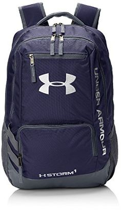 Under Armour Hustle II Premium Backpack  Midnight Navy * Check out this great product.