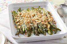 healthy eats Easy Creamy Baked Asparagus recipe