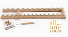 Loom a Hat on the AIO (Updated) « Knitting Board Blog - pegs per yarn weight per size