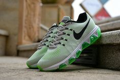 timeless design 2f5ea c4244 Spring Summer 2018 Real Nike Air Max Tailwind 8 Wolf Grey Voltage Green  Black Spring Summer