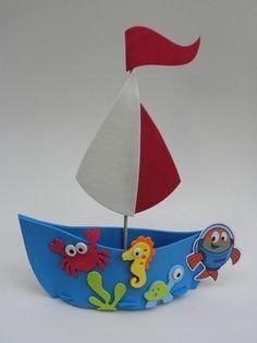molde barco - Buscar con Google