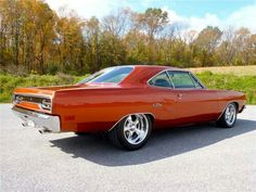 Nice color on this Plymouth GTX.