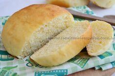 PÃO de LEITE - Fazer pão em casa pode ser fácil... Confira essa receita de pãozinho de leite e surpreenda a todos com um delicioso pão caseiro fresquinho, fofinho e quentinho