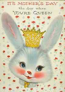 Vintage  Bunny Rabbit