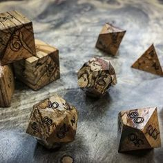Carved from Mother Nature's finest woods. These dice are what we're known for. Here you'll find majority of species of woods we offer, some exotic, and some not so exotic but each i… Dnd Druid, Dungeons And Dragons Classes, D20 Dice, Game Terrain, Dnd Art, I Adore You, Dnd Characters, Character Aesthetic, Ferdinand