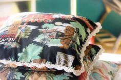 Tiki pillows