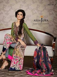 Pakistani Suits in Delhi | Pakistani Designer Suits | Salwar Kameez: Asim Jofa Replica 2014