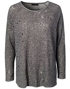 Wunder Sweatshirt - Tiger Of Sweden Jeans - Grå melange - Gensere - Klær - NELLY.COM