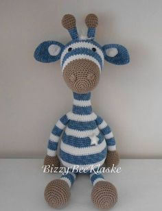 Bizzy Bee Klaske Source by pintodesousa Crochet Animal Patterns, Stuffed Animal Patterns, Knitting Patterns, Cute Crochet, Crochet For Kids, Crochet Baby, Giraffe Crochet, Crochet Animals, Crochet Patterns Amigurumi