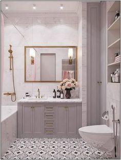Apartment bathroom renovation house 70 ideas for 2019 Bathroom Wall Decor, Bathroom Styling, Bathroom Interior Design, Small Bathroom, Boho Bathroom, Modern Bathroom, Master Bathroom, Bad Inspiration, Bathroom Inspiration