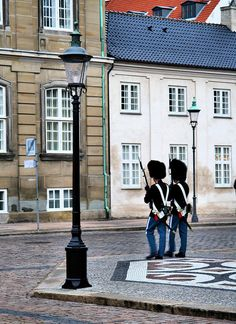 Royal Guards, Copenhagen, DK