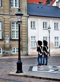 Royal Guards, Copenhagen, DK