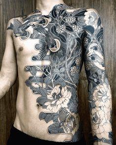 Asian Tattoos, Dope Tattoos, Badass Tattoos, Unique Tattoos, Beautiful Tattoos, Black Tattoos, Body Art Tattoos, Tattoo Drawings, Tatoos