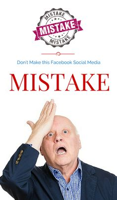 Don't Make this Facebook Social Media Mistake