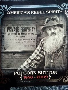 details about marvin popcorn sutton wanted poster