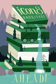 ICON 8 Bookstore AHEAD! - Ellen Surrey