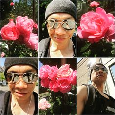 Soaking in a little #sunshine and smelling #roses. #awesome #dayoff #london #northlondon #stokenewington #sun #sunnyday #recovery