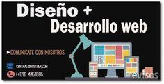 Diseño + Desarrollo Web / Empresarial Website ¿Sabes que necesita tu empresa o marca para tener un mejor imagen y alcense mundial?  Creatividad, ... http://lima-city.evisos.com.pe/diseno-desarrollo-web-empresarial-website-id-614313