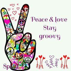 Peace Sign Art....