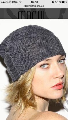 Knitted Hats, Winter Hats, Knitting, Fashion, Moda, Tricot, La Mode, Knit Caps, Breien